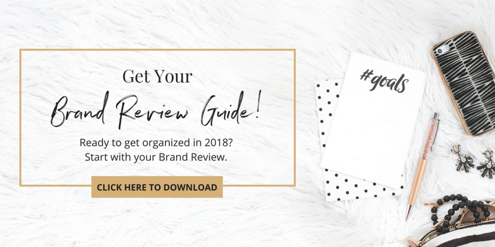 Get your Haute Brand Review Guide here and get your business ready and organized!