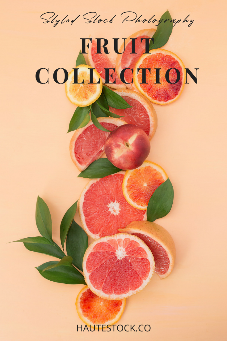 Haute Stock's Colorful Fruit Styled Stock Photography! Click to see more!