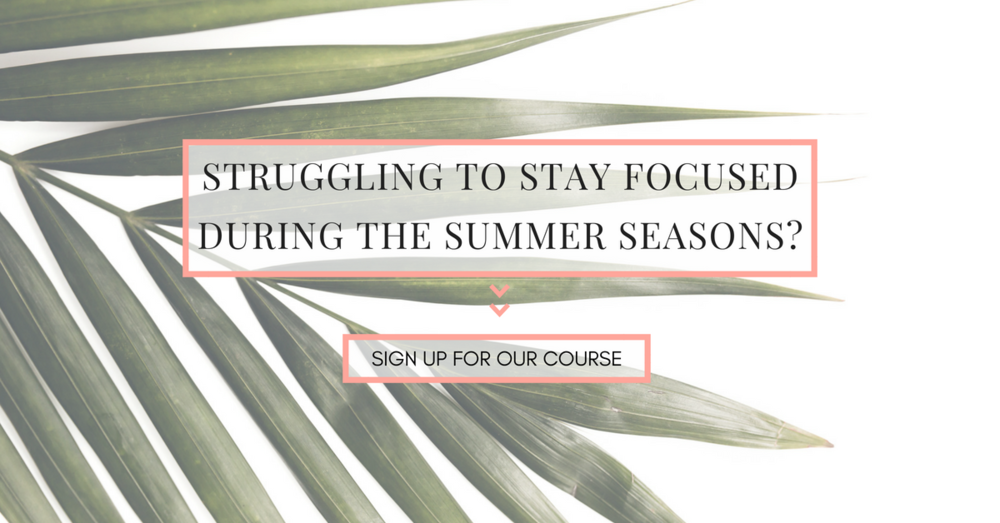 Example summer Facebook ads graphic from Haute Stock