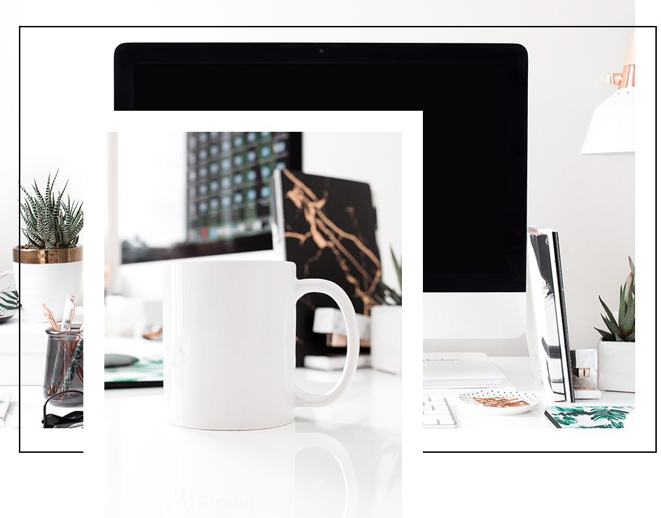 Mockups - Showcase your designs with our beautiful mockup stock photos. We have paper, frame, tech and mug mockups in a variety of color to choose from.