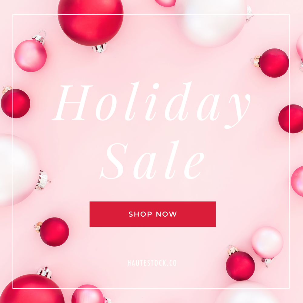 Looking to get your business ready for an upcoming big, holiday promotion? Pink & Red Holiday from Haute Stock offers beautiful styled stock photography for woman entrepreneurs.