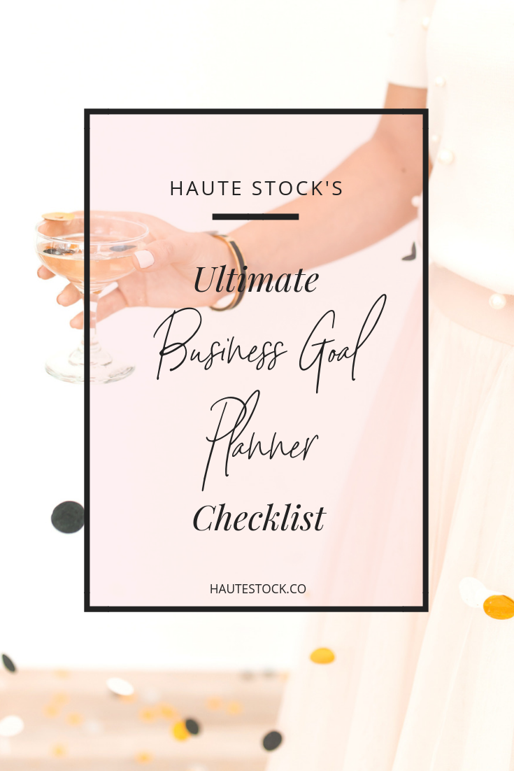 Example of checklist/workbook cover graphic from Haute Stock.