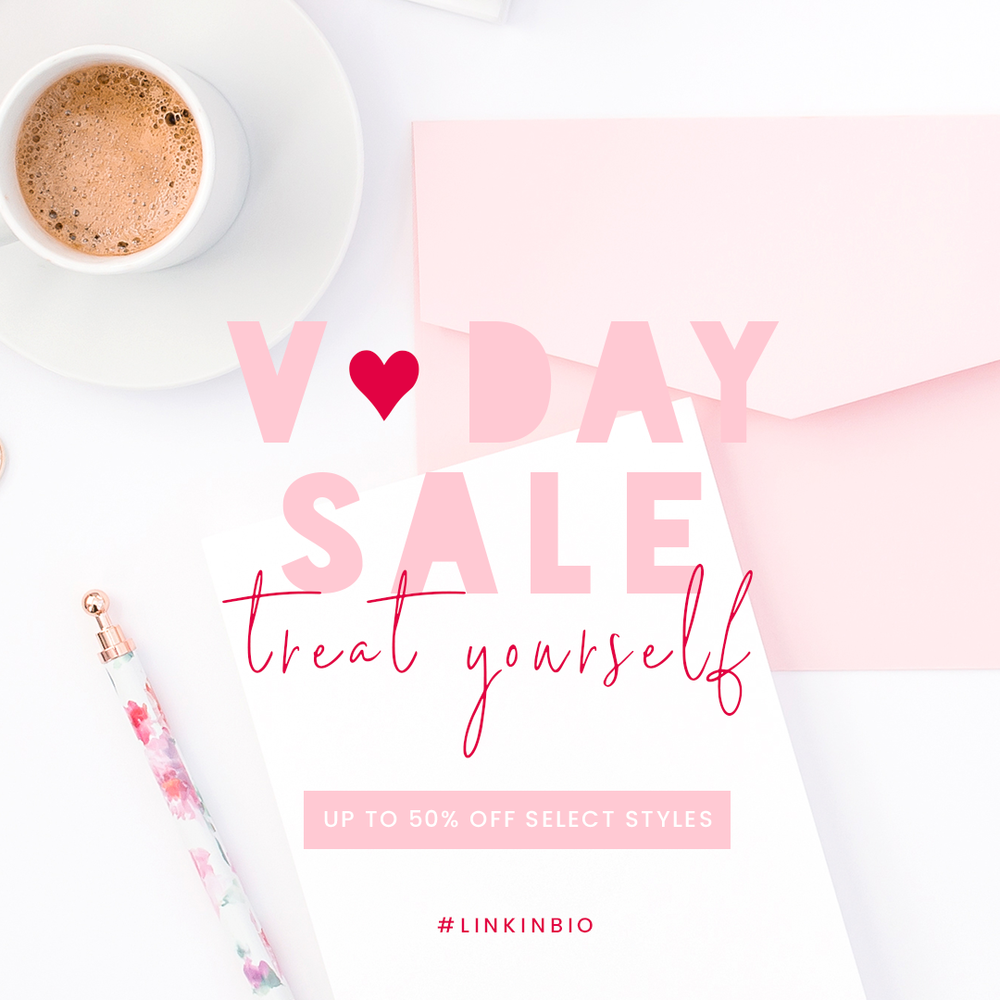 All your Valentine's Day graphic design inspo! Get inspired with Haute Stock's 15 different ways to use Haute Stock images to create on brand graphics!