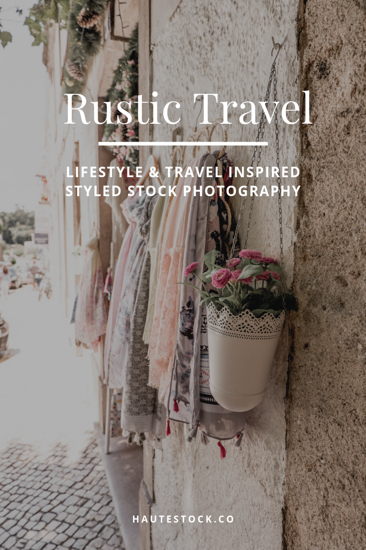 This Rustic Travel styled stock photo collection from Haute Stock features a warm color palette, moody and vintage inspired images.