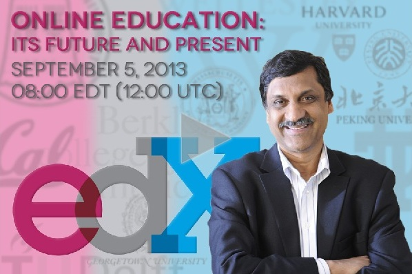 This graphic (2013) headed up a streaming discussion on the future of online education and a new series of MOOCs taught at some of the world's most prestigious universities.