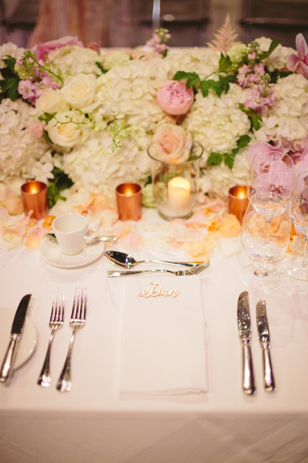Copper Peach Pink Wedding Table Arrangement.jpg