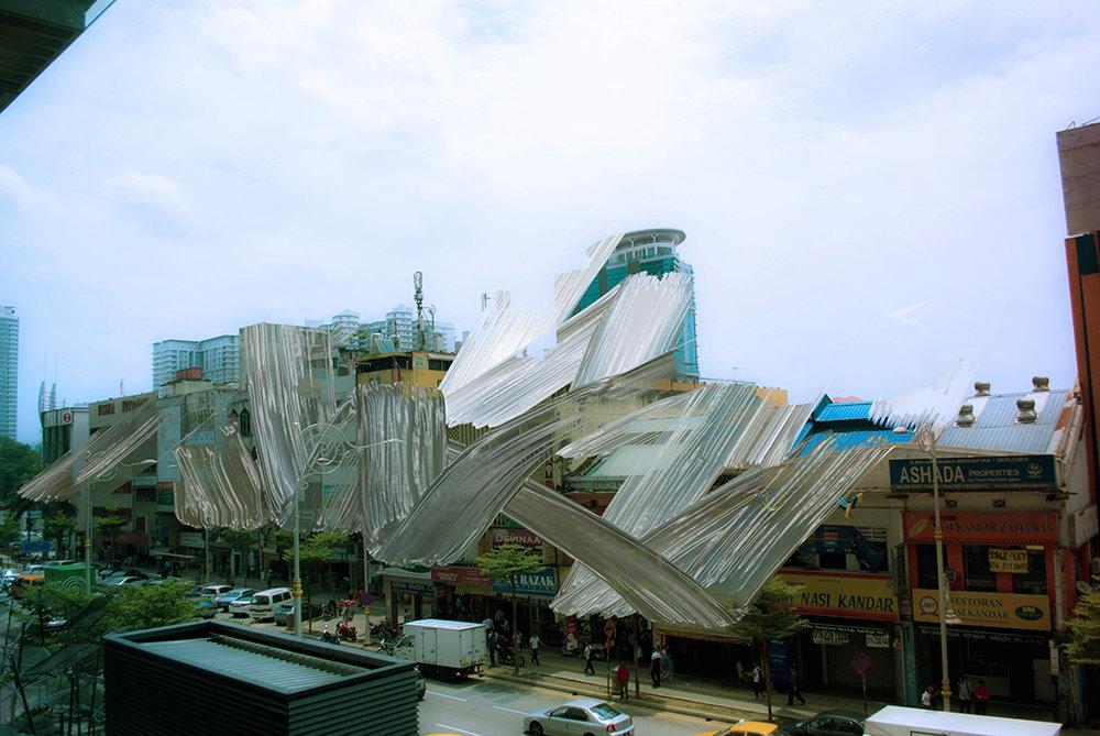 Kenta Cobayashi, City (Kuala Lumpur), #smudge, 2015.