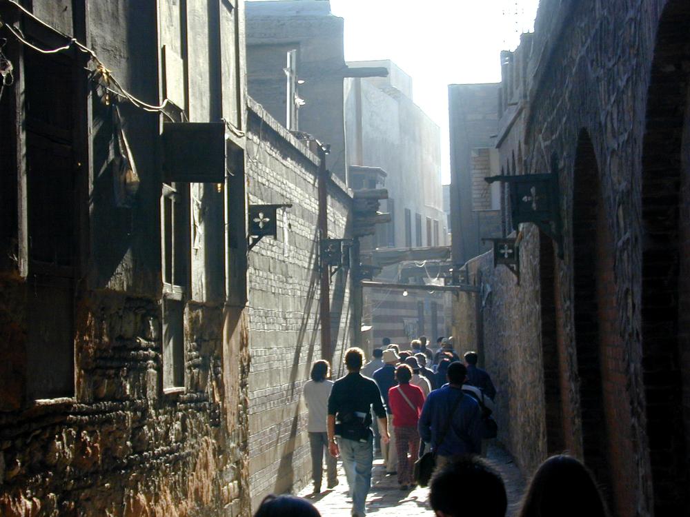 Down a Cairo street to see a church