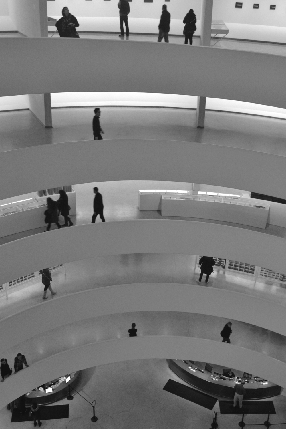 The Guggenheim  inside