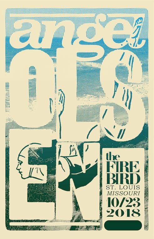 Angel Olsen    Role: Poster Design Conceptual Design