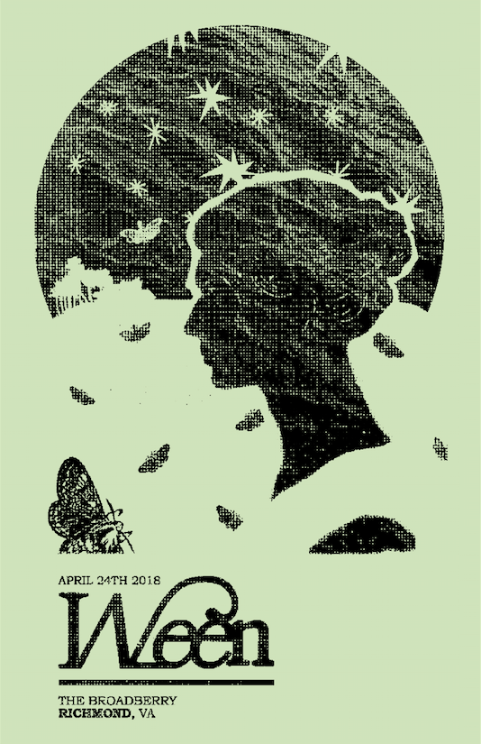 Ween    Role: Poster Design Conceptual Design