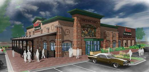 The Chicagoland restaurant brand unveils plans for new location at 12251 Elm Creek Blvd. N. Photo Credit: Portillo's