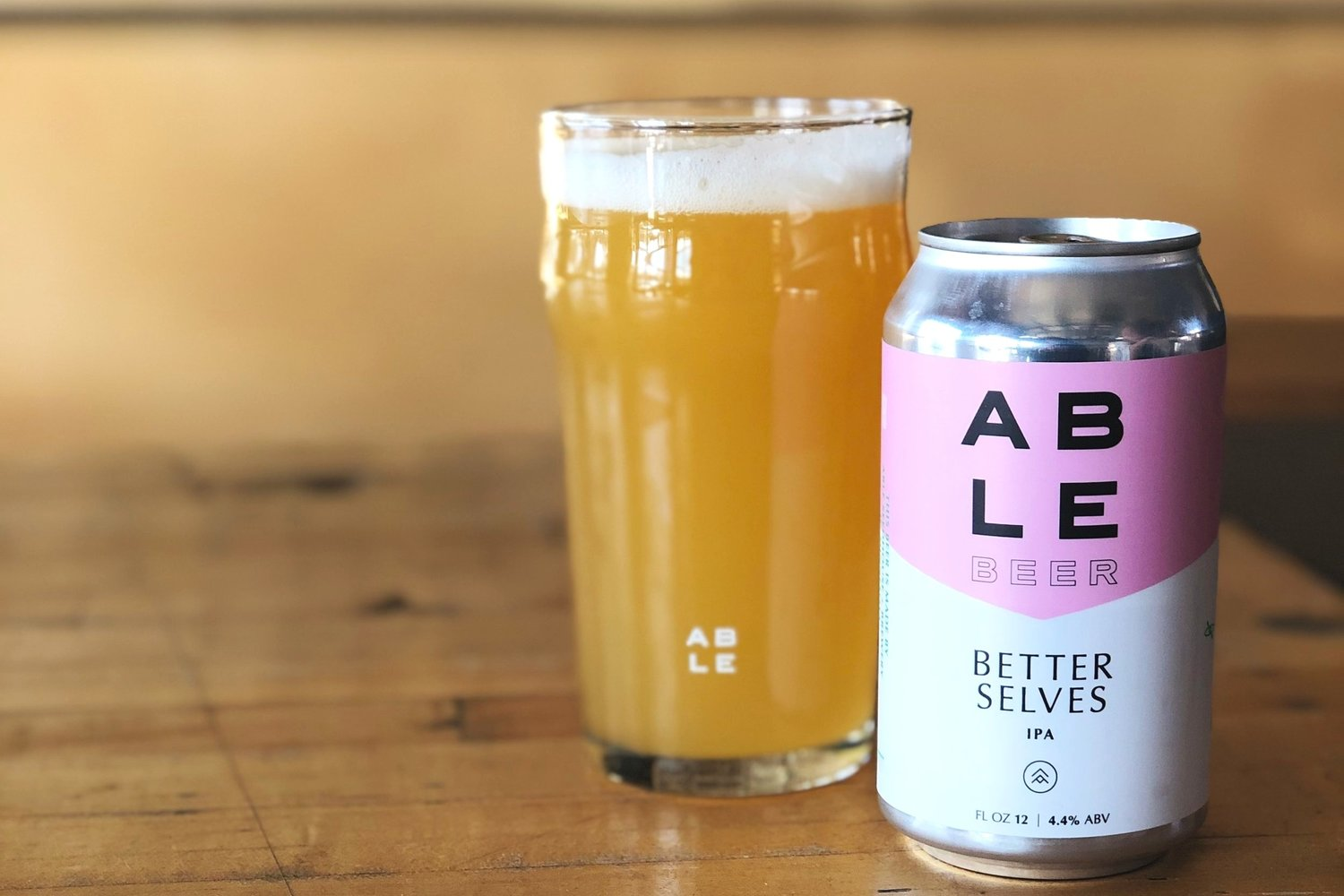 ABLE Brewery's Better Selves: Non IPA Drinker's IPA With a Bangin