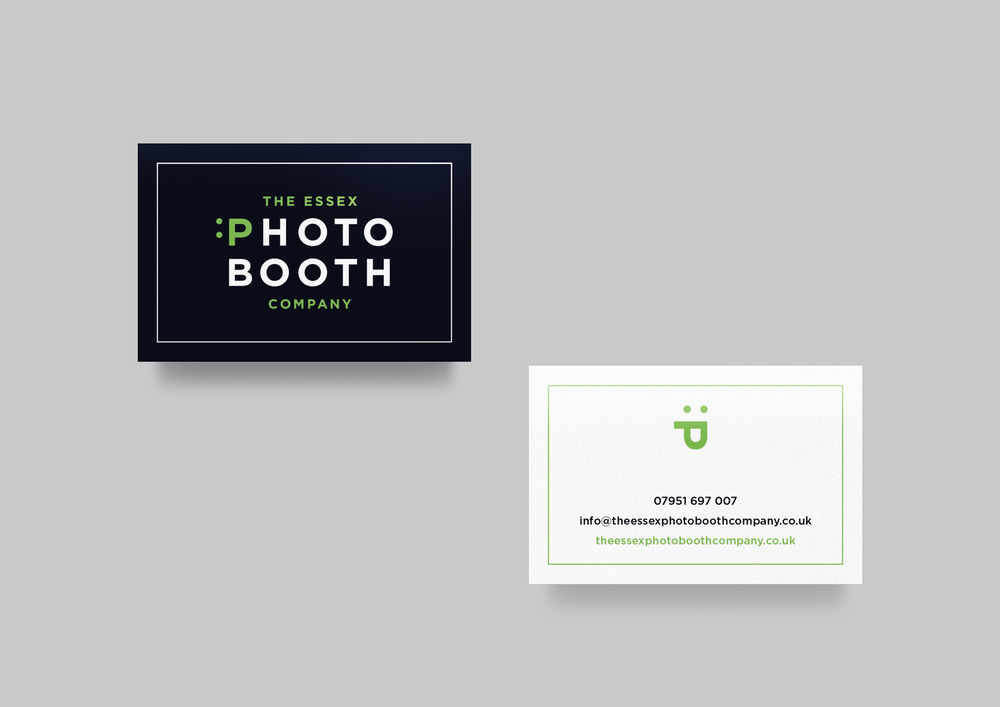 Business card photo booth images card design and card template the essex photo booth company daniel marks design theessexphotoboothcompanybusinesscardsg reheart images reheart Image collections