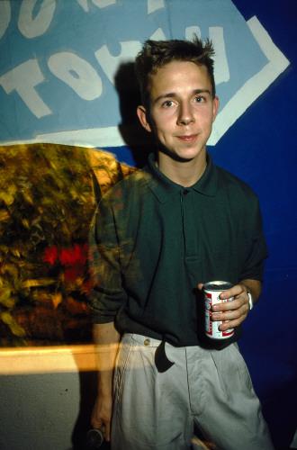 DJ Gilles Peterson at the 'Doo At The Zoo', London, October 1986 /David Swindells / PYMCA