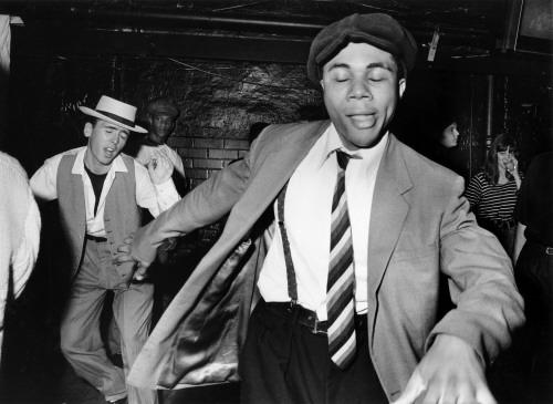 Acid Jazz club, 'Talking Loud' @ Dingwalls, Camden, London 1988 -1990 /Adam Friedman / PYMCA