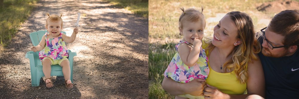 To her first birthday (back at Greenbluff)...