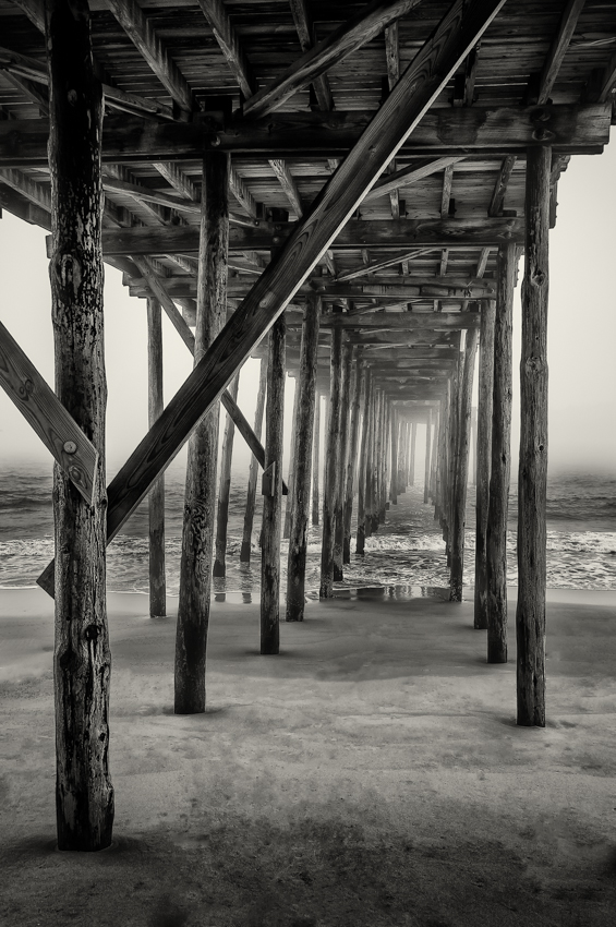 Darren Elias Photography Pier into Fog2