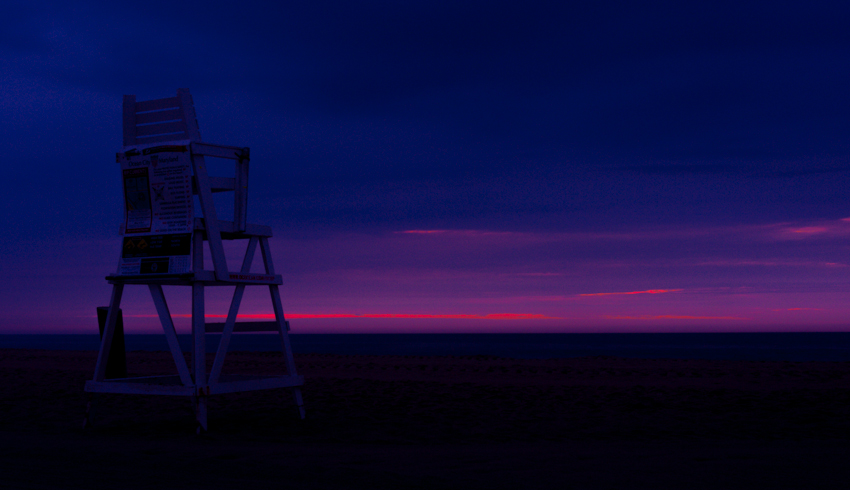 Darren Elias Photography - Ocean City Maryland Lifeguard Chair 1