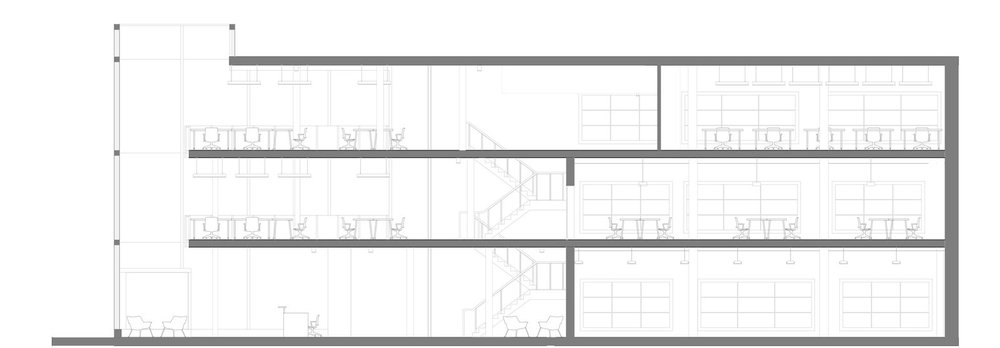 Ryerson's School of Interior Design   East Section