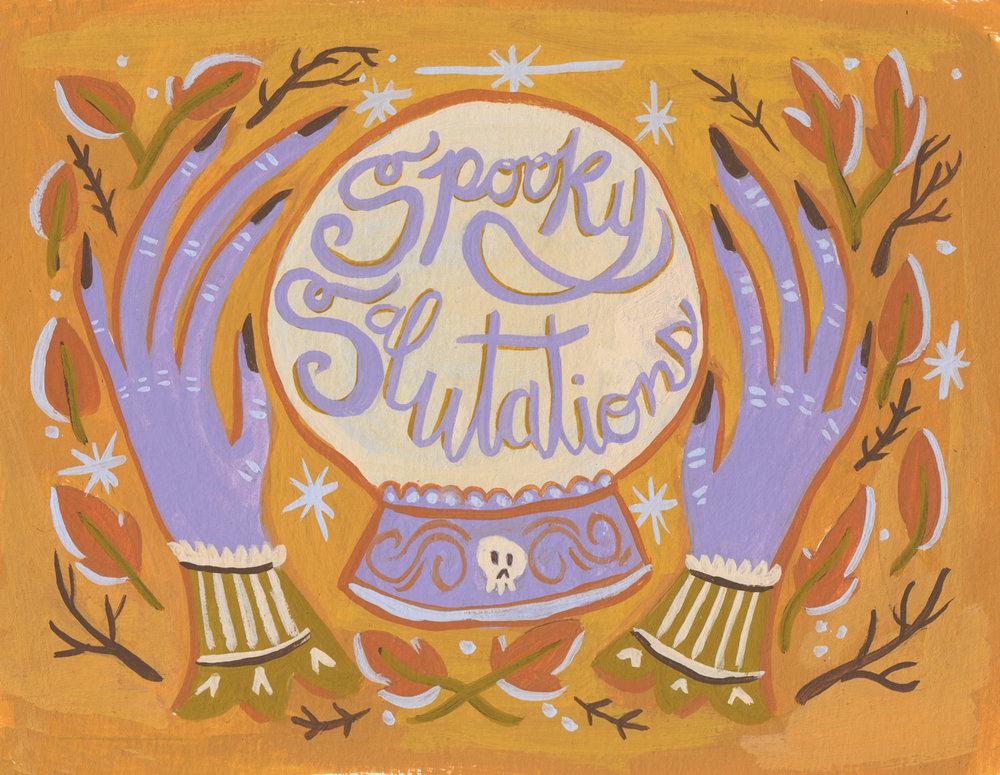 Spooky Salutations