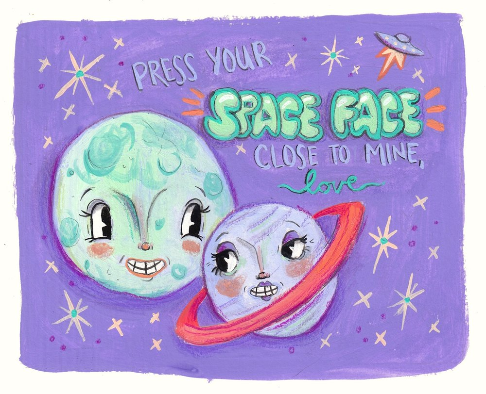 Press Your Space Face Close to Mine, Love