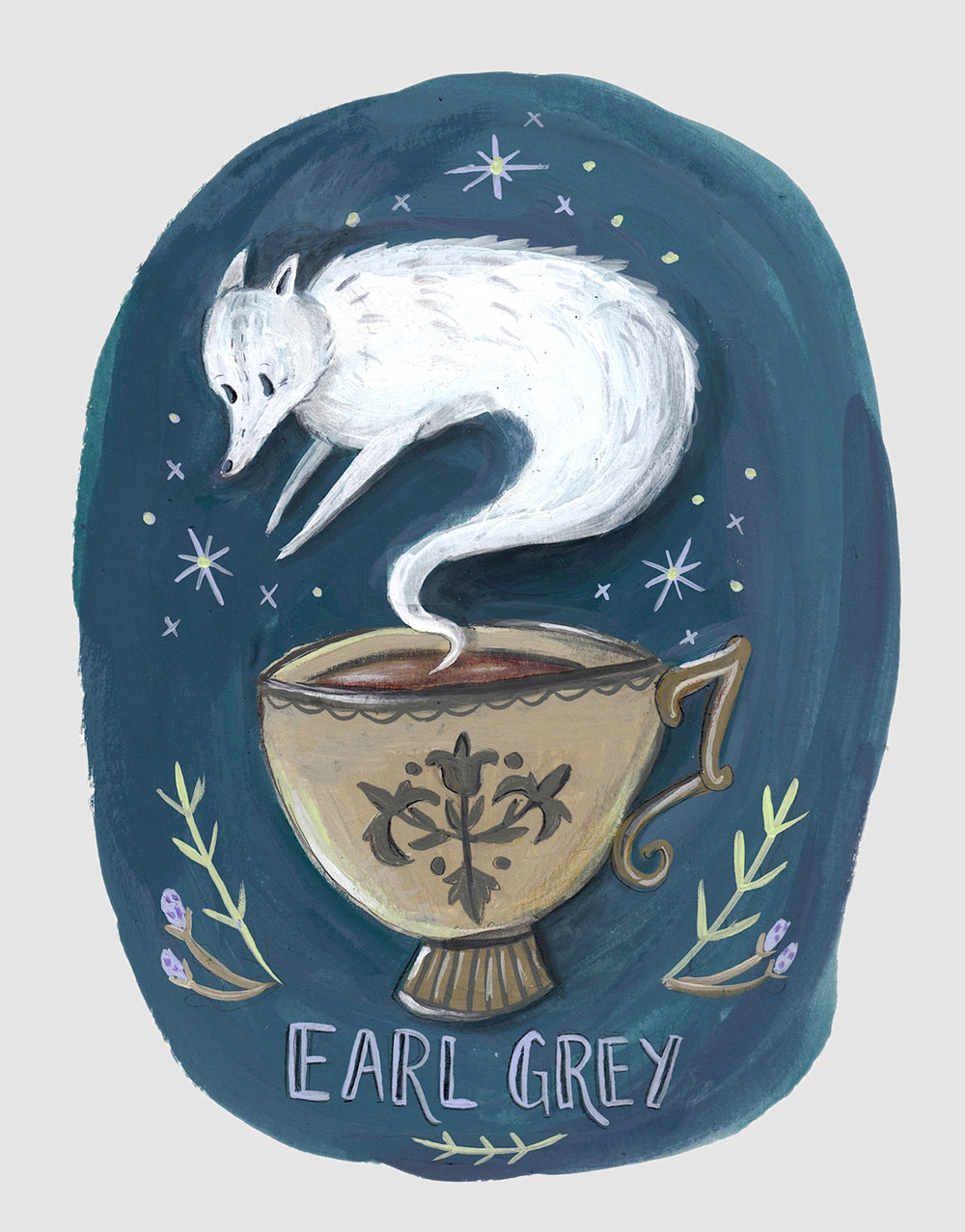 Earl Grey Ghostea