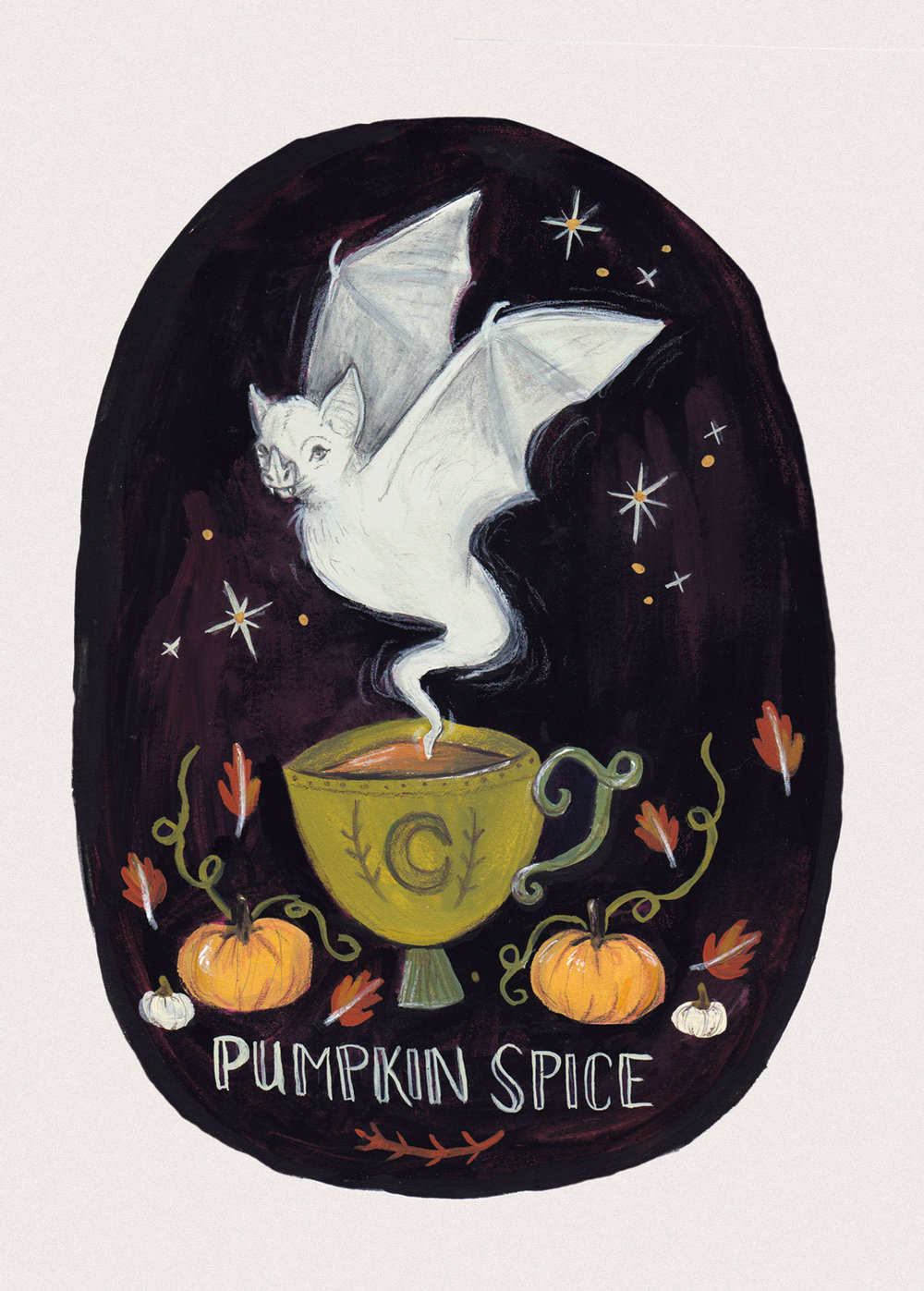 Pumpkin Spice Ghostea