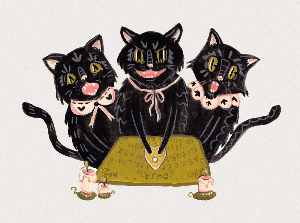Ouija Cats