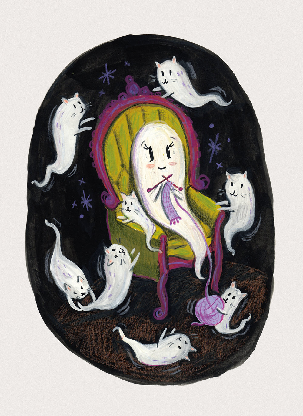 The Ghost of a Cat Lady