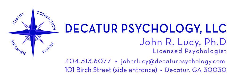 John R  Lucy, Ph D  - Decatur Psychology