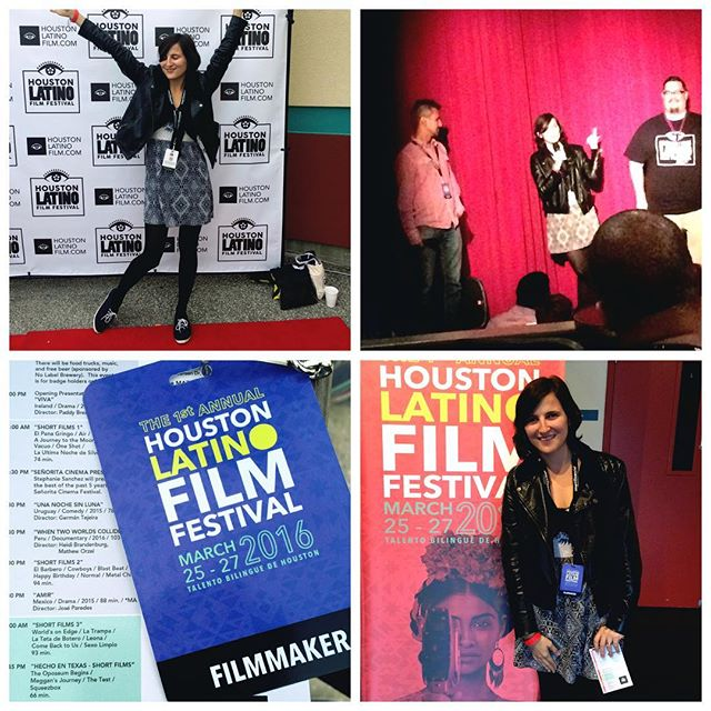 Thank you @houstonlatinofilmfestival for having us! Our producer @ana2607 had a stellar time repping Blast Beat! #BlastBeat #houstonlatinofilmfestival #latinofilm #indiefilm #supportindiefilm #filmmaking #filmfestival #houston #shortfilm #film 💪🏽✨🎥🎉👌🏽😎😍👾⚡️💫🎸🎬🎮🇺🇸🔆