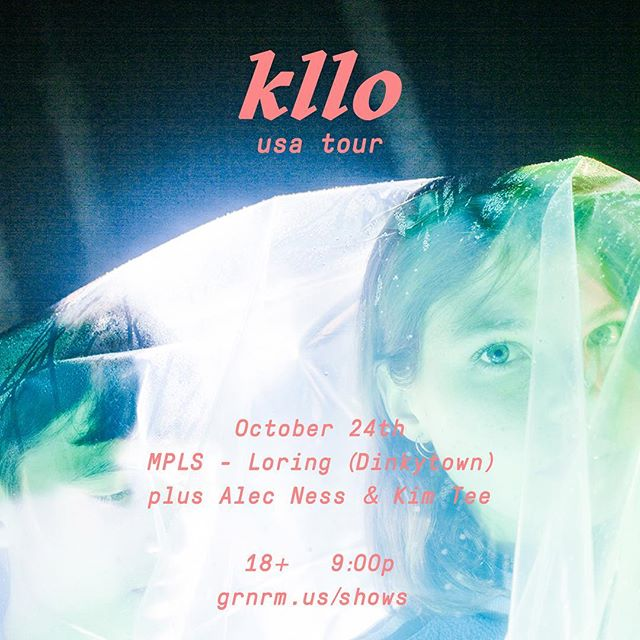 October 24th  Loring (Dinkytown) + @alecness + @kimtee_kimtee