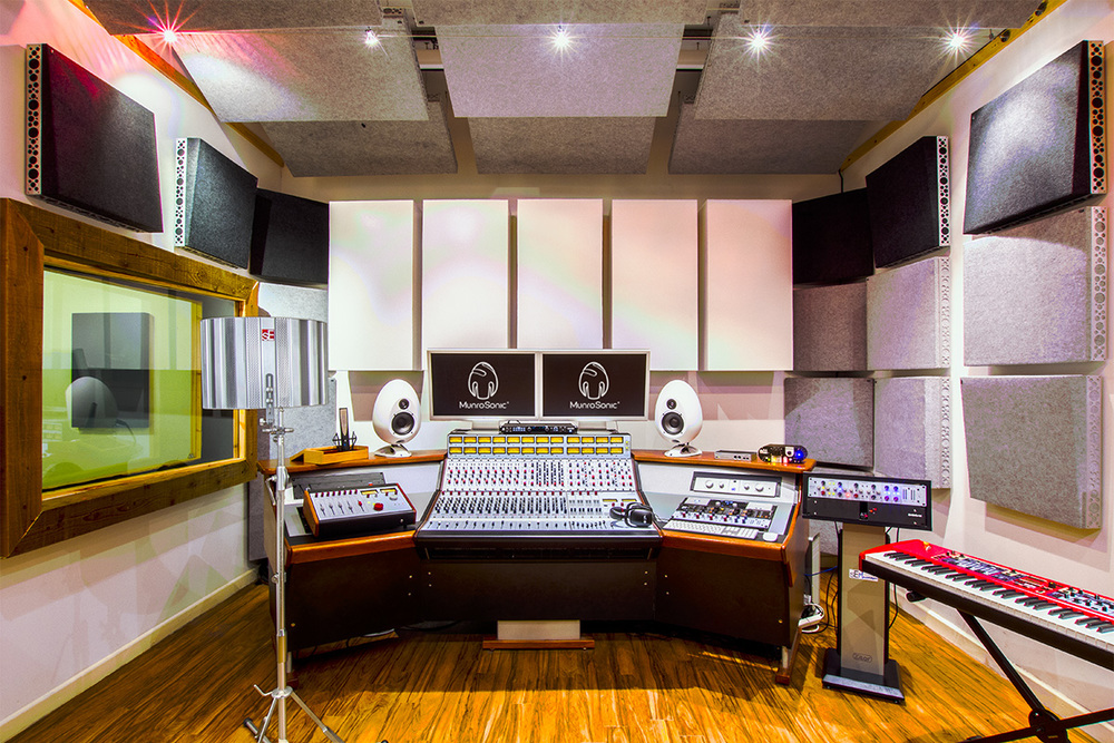 Our Andy Munro-designed professional recording studio