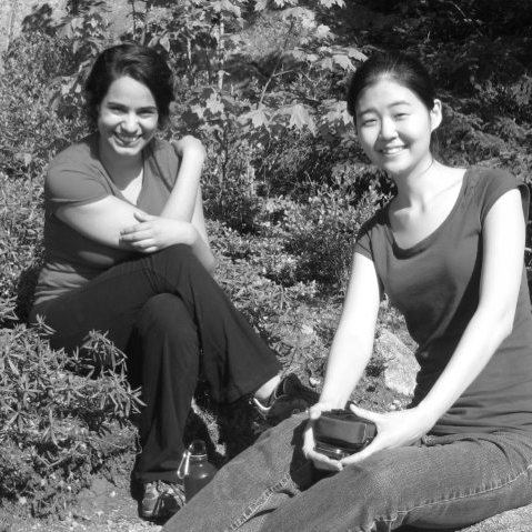 Gladys Rodriguez and Esther Park