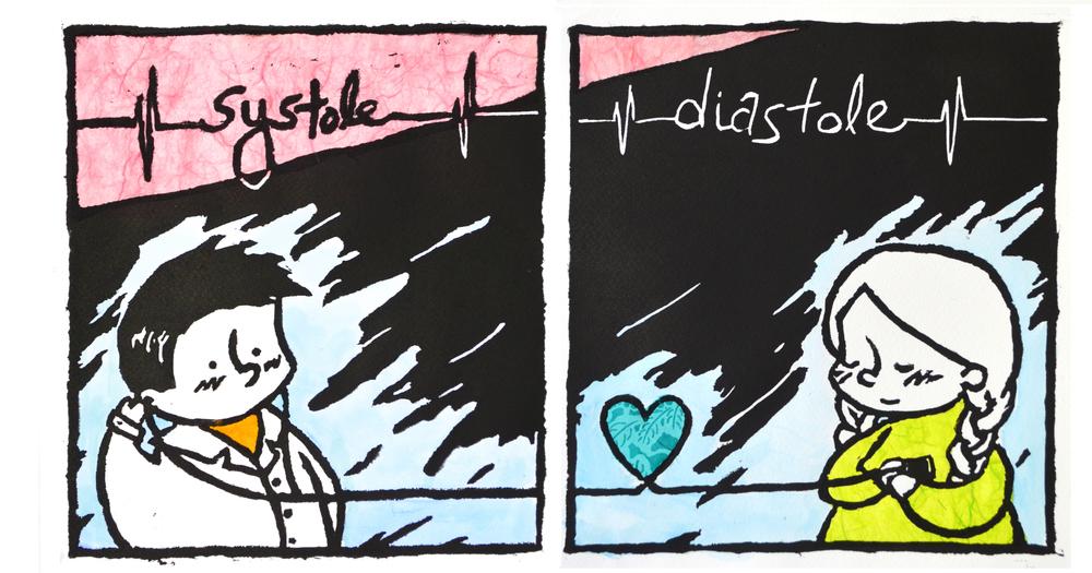 Systole Diastole.  Natalie Uy, Spring 2014  Intima .