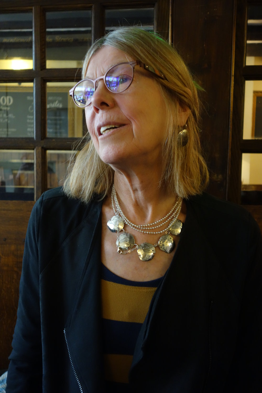 "Wendy French is a poet, whose latest collection of poems is ""Thinks Itself A Hawk"" (Hippocrates, 2016). Her collaboration with Jane Kirwan resulted in the book ""Born in the NHS"" (Hippocrates, 2013). She won the Hippocrates Poetry and Medicine prize for the NHS section in 2010 and was awarded second prize in 2011. She has worked for the past twenty years in healthcare settings. Her poem "" Exchange "" appears in the Spring 2017 Intima."