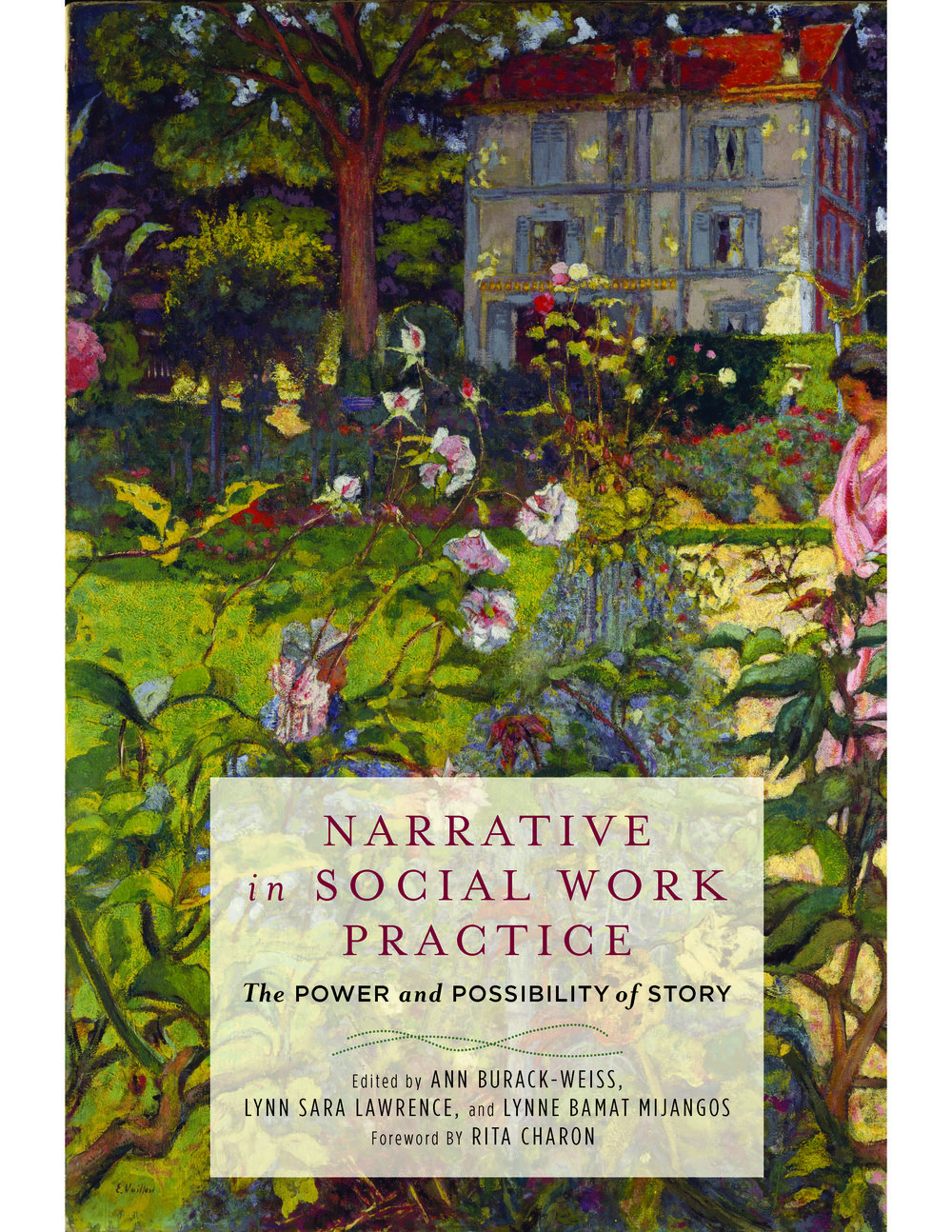 Narrative in Social Work Practice: The Power and Possibility of Story   by Ann Burack-Weiss, Lynn Sara Lawrence and Lynne Bamat Mijangos.