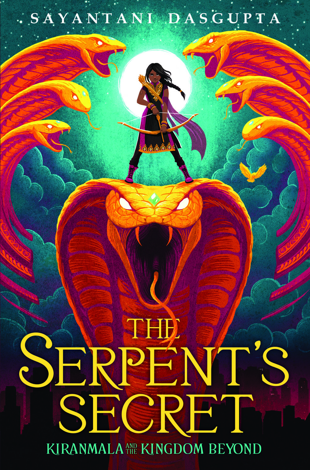 """The Serpent's Secret"" is the first book in the Kiranmala and the Kingdom Beyond Series; Scholastic publishes the book on February 27, 2018."