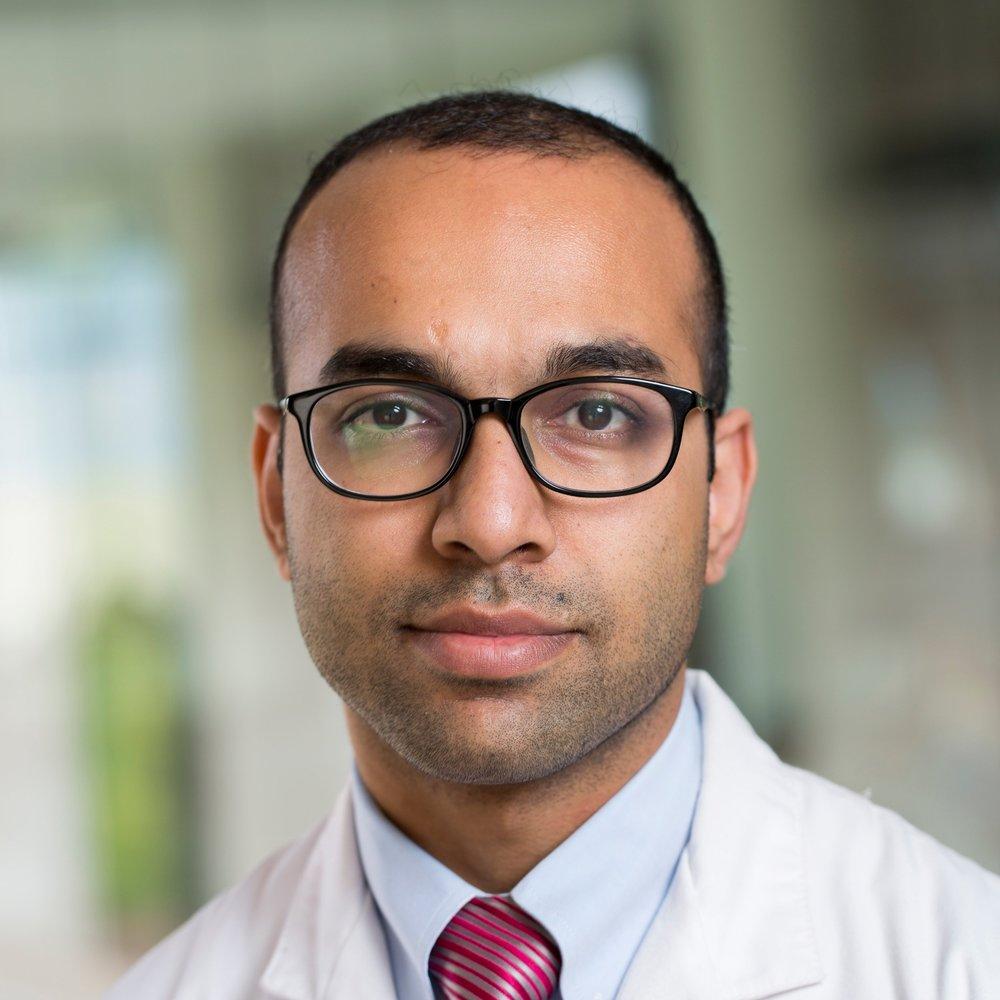 Haider Warraich, MD  Photo by Shawn Rocco, Duke Health