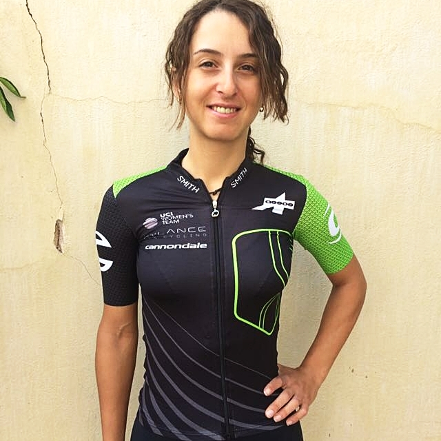 Rossella Ratto (ITA) shows off the new 2018 jersey!