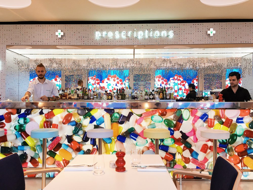 Pharmacy 2 Bar and Restaurant Damien Hirst