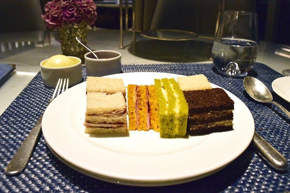 Shard London Shangri-la Afternoon Tea