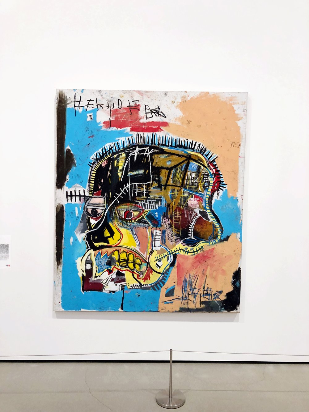 The Broad Basquiat