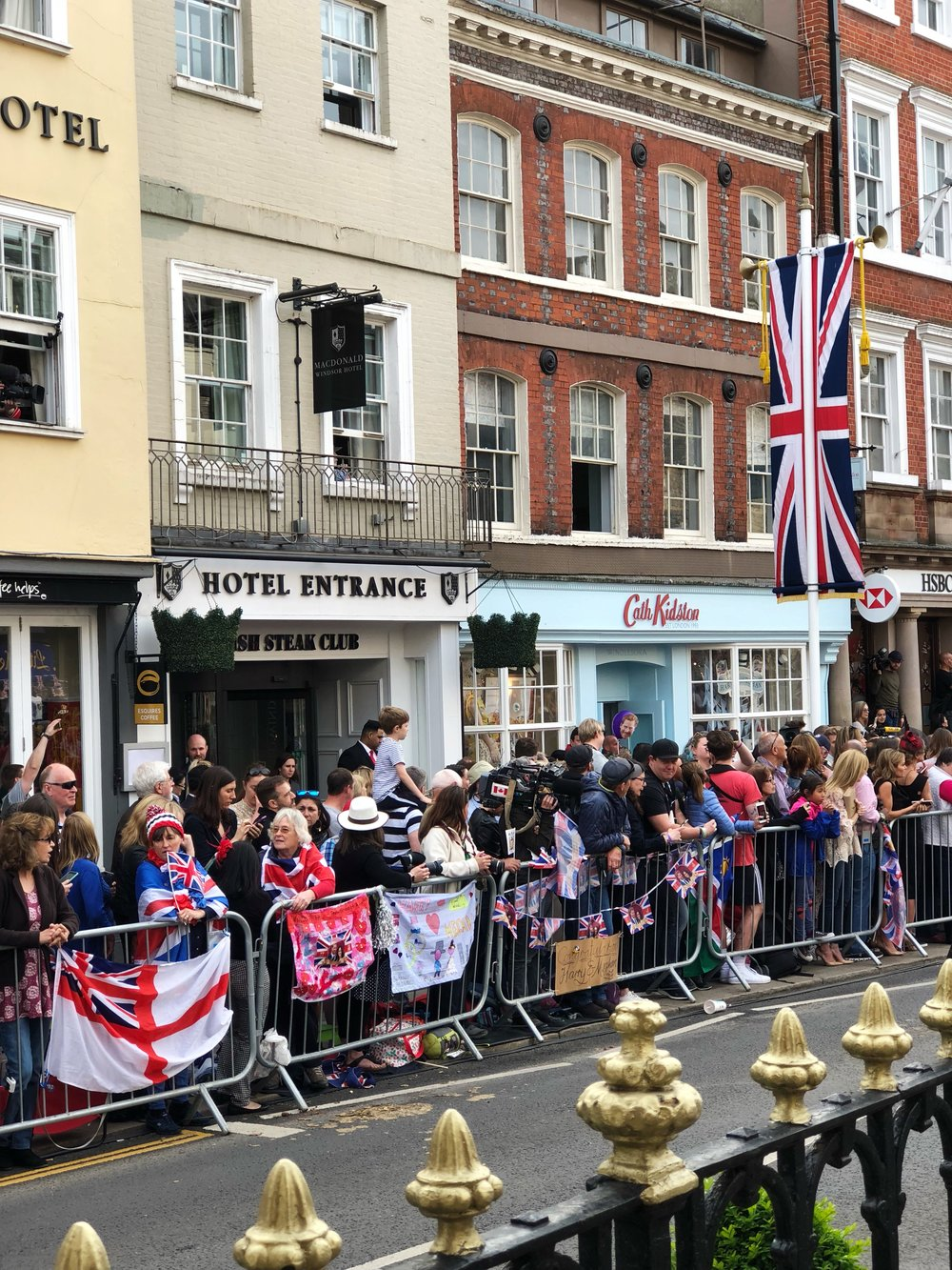 Windsor, UK, Royal Wedding