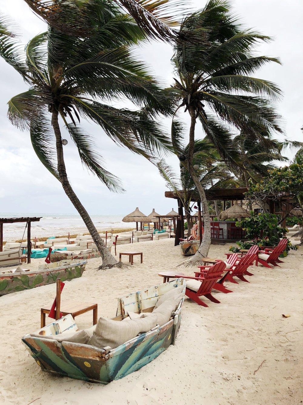 La Zebra Tulum Mexico Beach