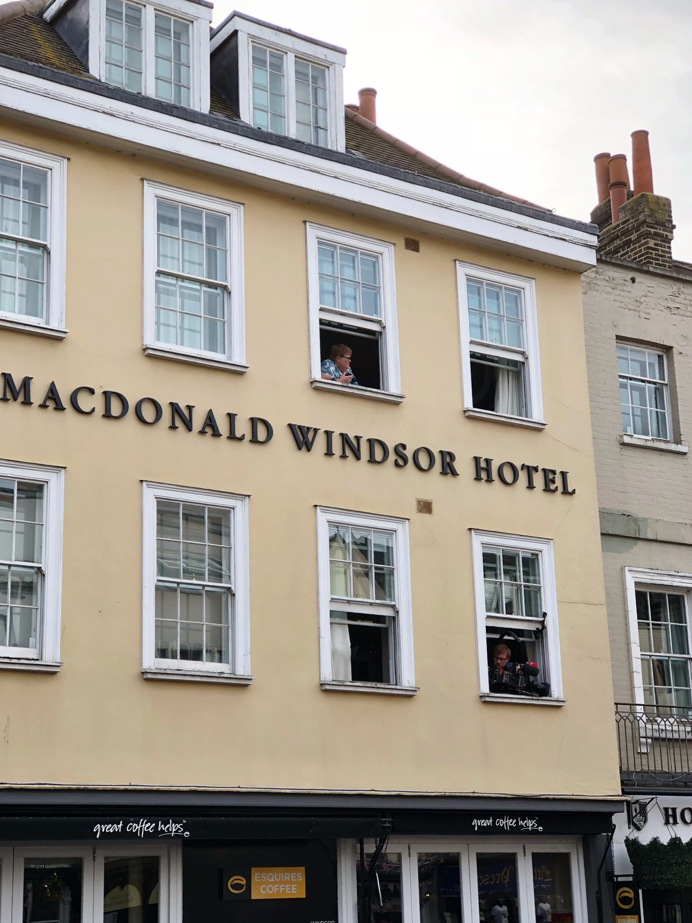 Windsor, UK, Royal Wedding, Macdonald Windsor Hotel