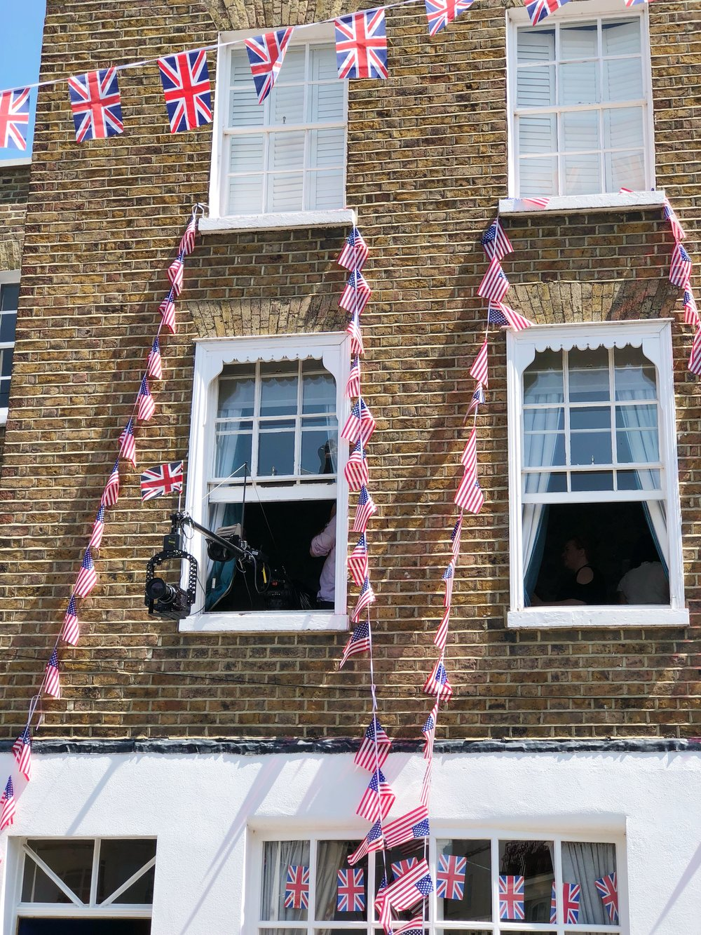Windsor, UK, Royal Wedding, Bunting