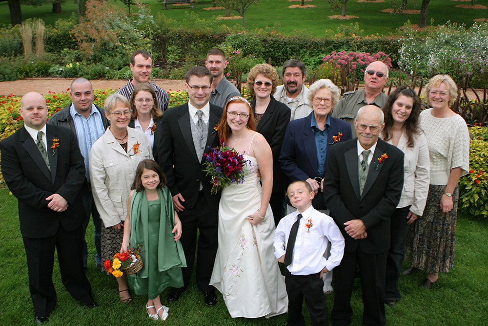 wedding family shot