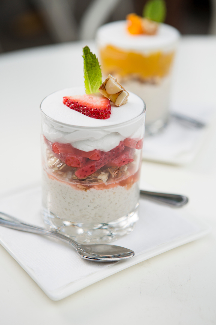 Pickled Strawberry Parfait
